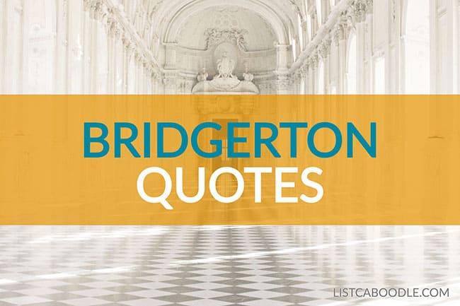 Bridgerton quotes image