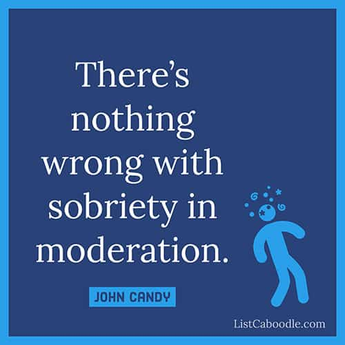 Sobriety quote image