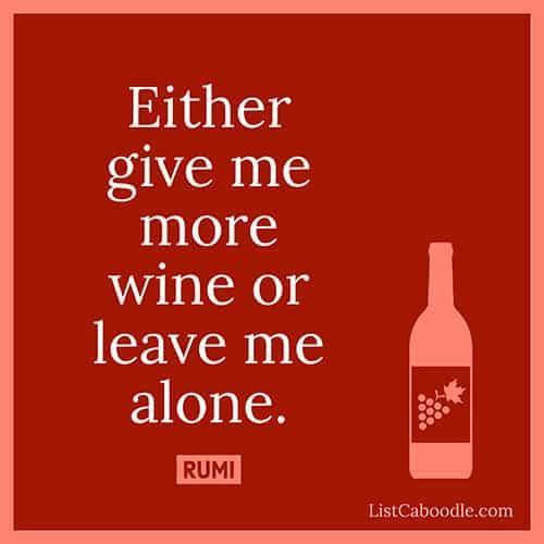Wine quote image