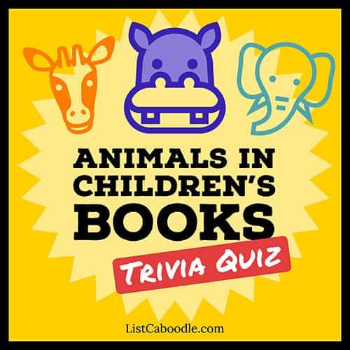 Children's books trivia image