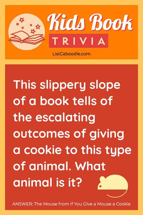 Animals in kids' book quiz