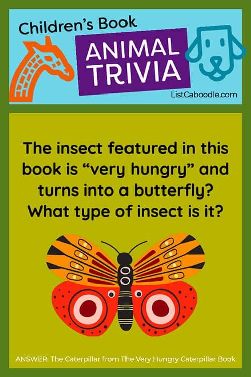 Caterpillar quiz question