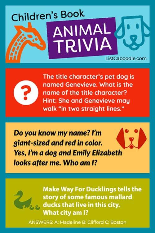 Take the children's books trivia quiz