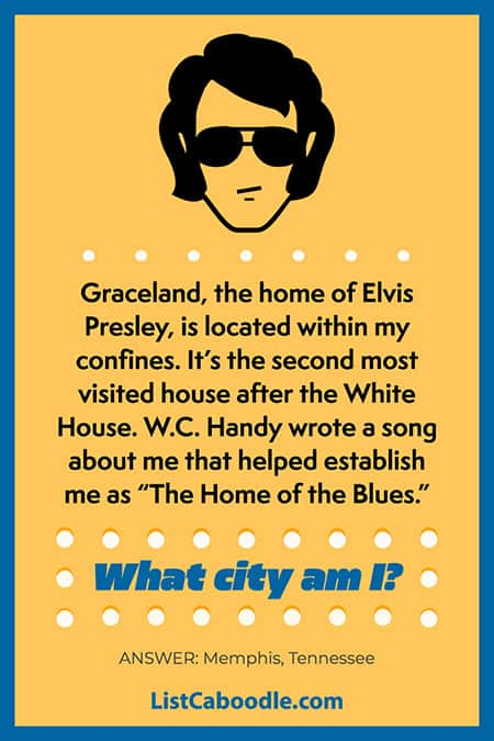 Memphis geography trivia image