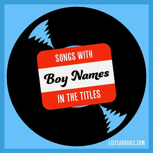 Songs with boy names image