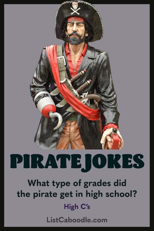 Pirate puns and riddles