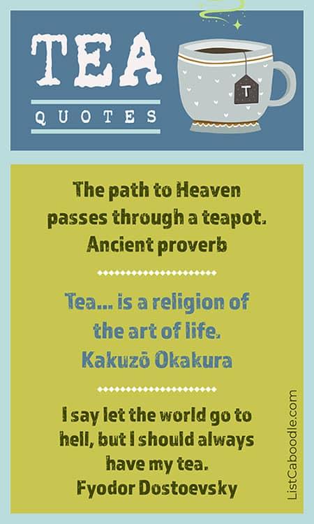 Tea quotes image