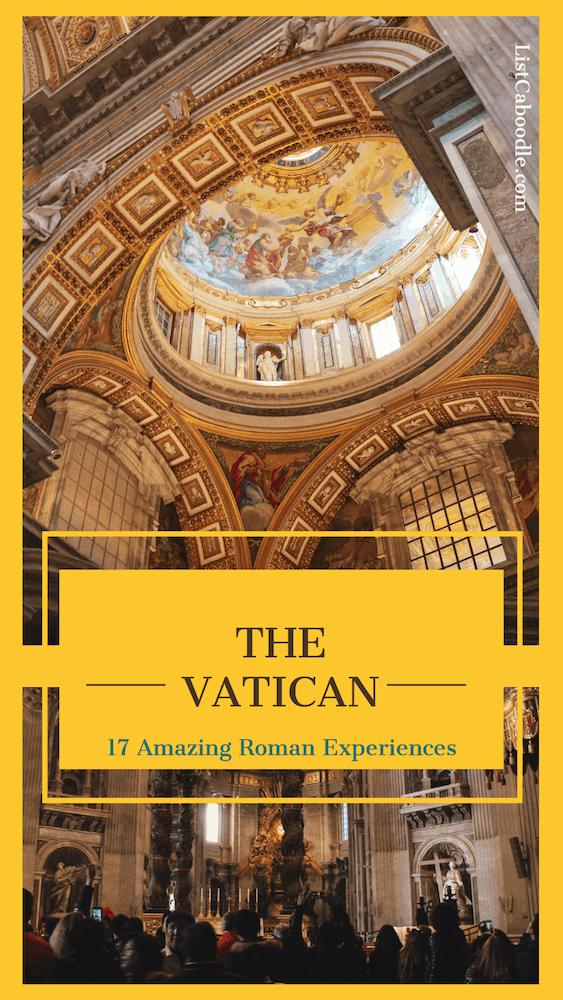 The Vatican - Roman Experiences