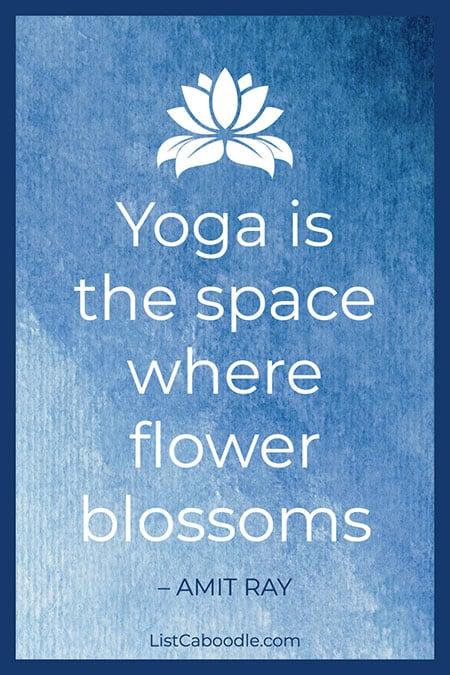 Amit Ray yoga quote