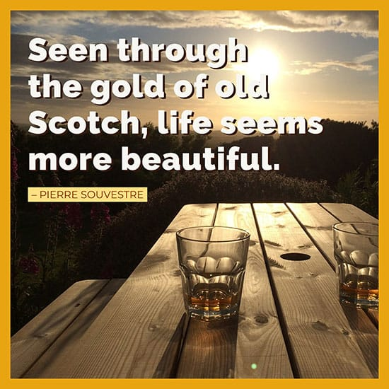 Pierre Souvestre whiskey quote