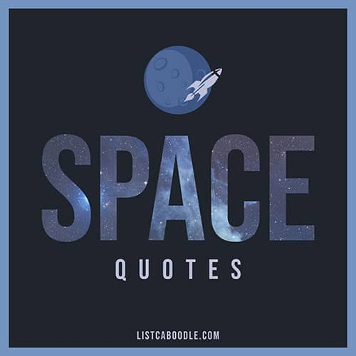 Space Quotes and Sayings