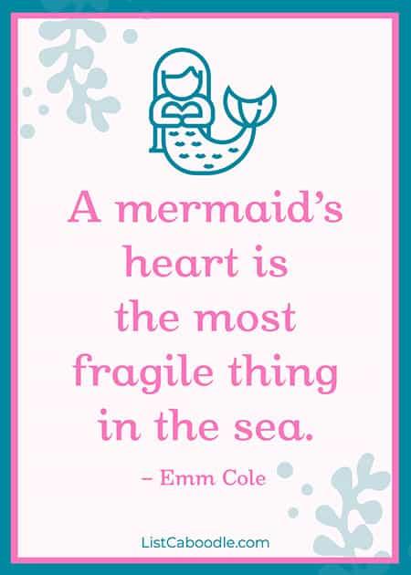 Emm Cole mermaid quote