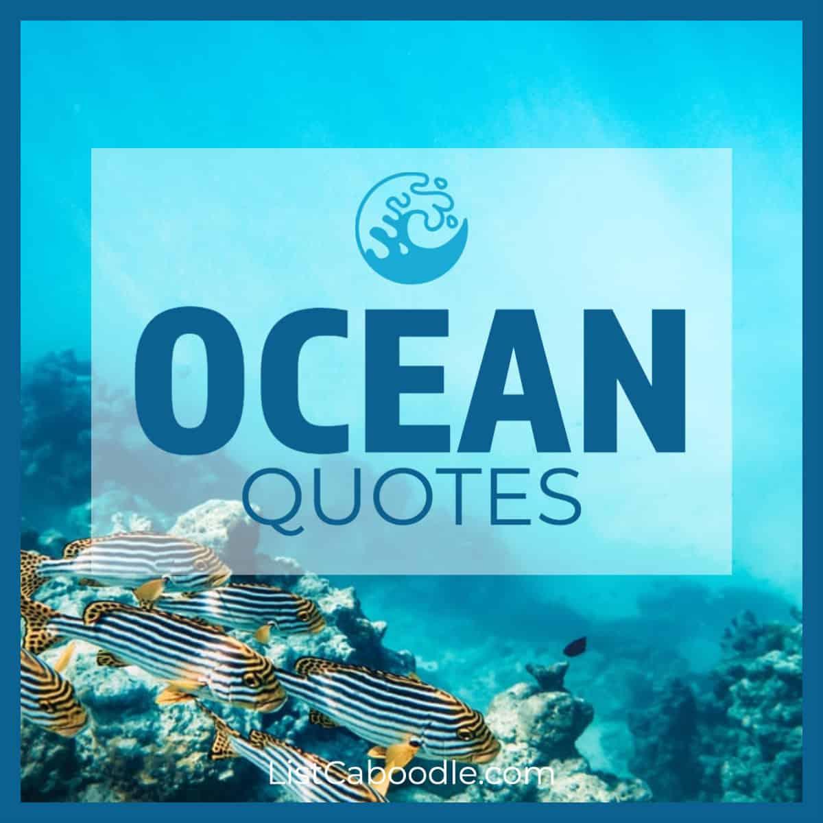 Ocean quotes image