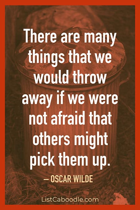 Throw away quote
