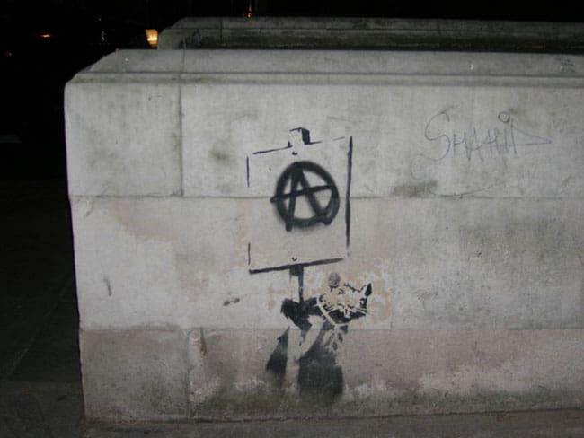 Anarchy Rat by Banksy