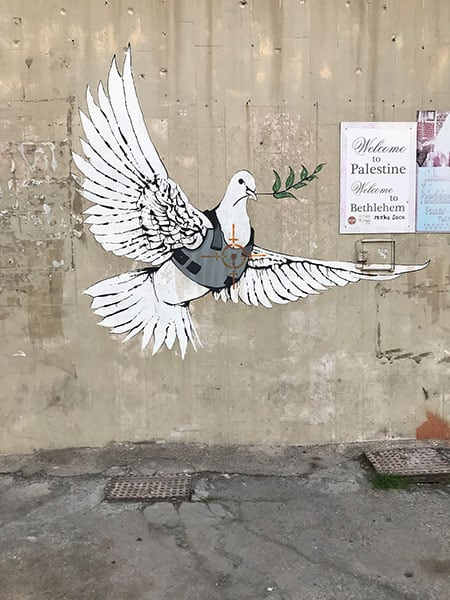 Dove of Peace by Banksy