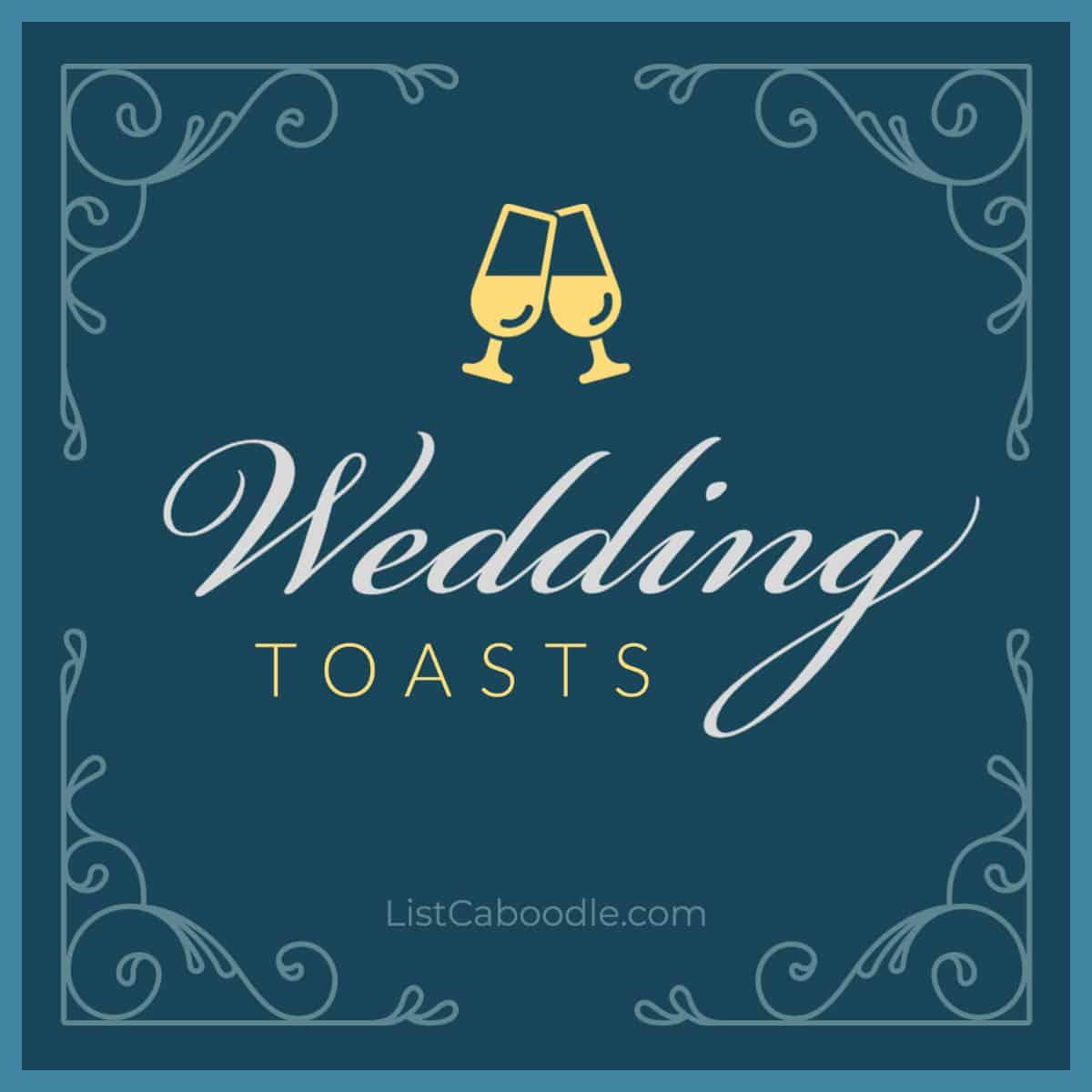 Wedding Toasts image