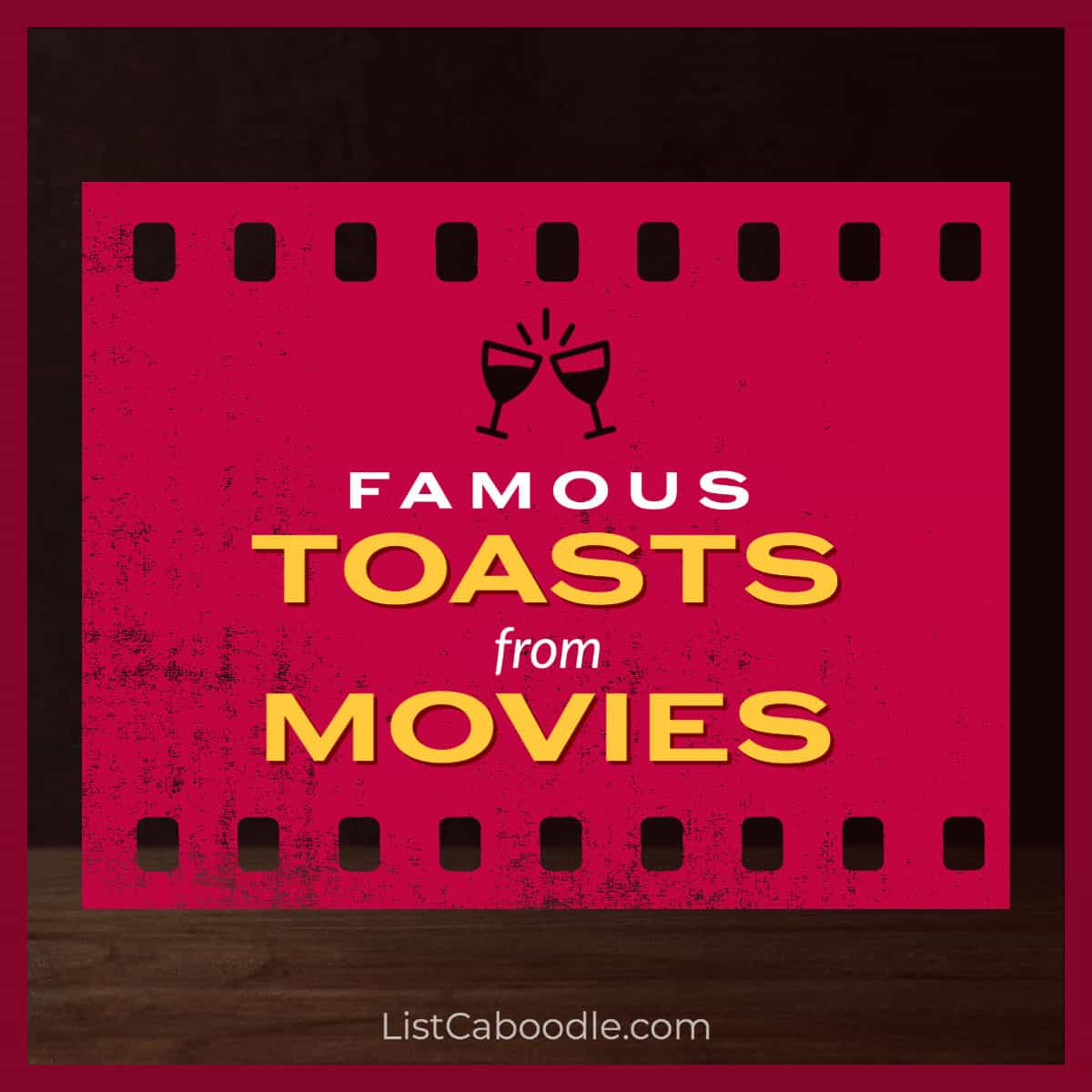 Toasts from movies image