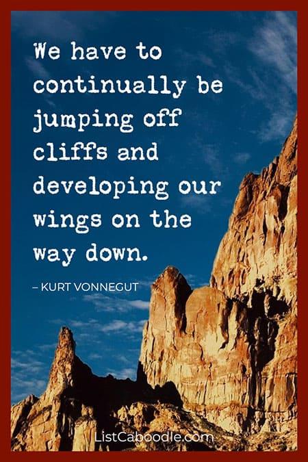 Kurt Vonnegut creativity quote